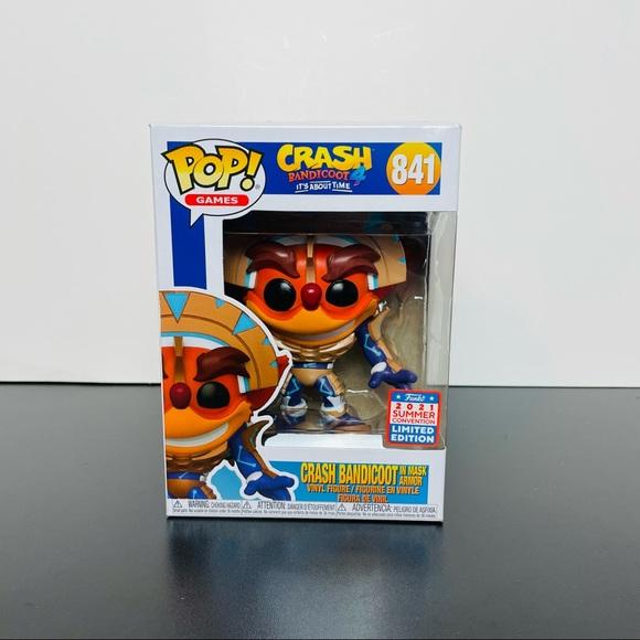 [Funko Pop] Crash Bandicoot in Mask Armor [841]